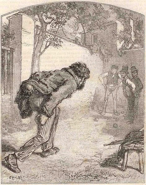 Fichier:Gavarni - Le joueur de boules 1858.jpg