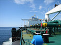 Gaz connection on an oil tanker.jpg