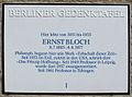 Gedenktafel Kreuznacher Str 52 (Wilmd) Ernst Bloch.JPG
