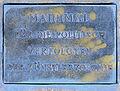 Gedenktafel Ludwig-Barnay-Platz (Wilmd) Künstlerkolonie.JPG