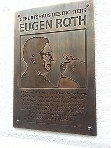 Eugen Roth Ein Mensch Der Sich Ein Schnitzel Briet