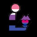 Genderfluid Bisexual Library Logo.png