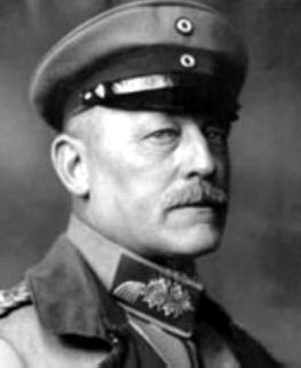 Infiltration tactics - General Oskar von Hutier, whose name is often associated with German infiltration tactics