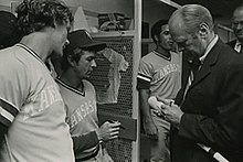 George Brett Freddie Patek and Gerald Ford (cropped).jpg