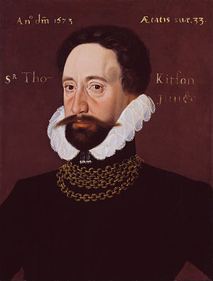 Thomas Kitson - Sir Thomas Kitson, the Younger (1573) by George Gower.