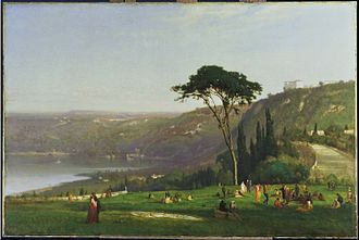 George Inness - Lake Albano, 1869. Phillips Collection.