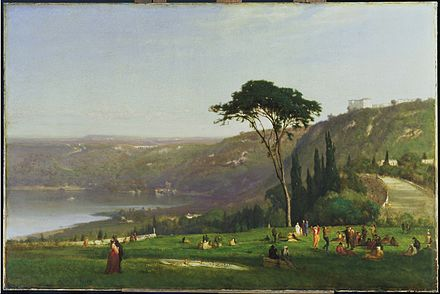 Lake Albano, 1869. Phillips Collection. George Inness - Lake Albano - Google Art Project.jpg