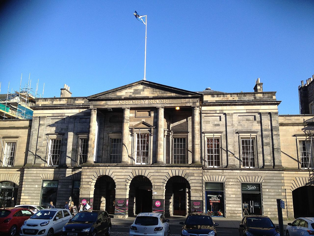 Assembly Rooms Edinburgh Hire