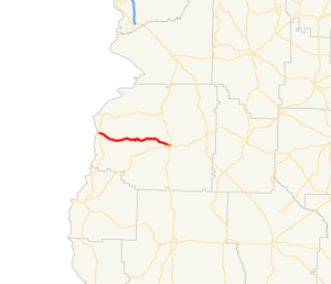 Georgia State Route 39 - Image: Georgia state route 39 connector map
