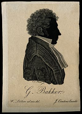 Gerbrand Bakker. Line engraving by C. C. Fuchs after W. Lubb Wellcome V0000316.jpg