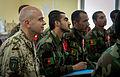 German air force Brig. Gen. Gunter Katz, left, an International Security Assistance Force spokesman, attends a civil engineering lecture at the Afghan National Defense University (ANDU) in Kabul, Afghanistan 130507-F-OF869-005.jpg