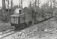 German narrow gauge locomotive making a troop run directly behind the Western Front in the spring of 1917.jpg