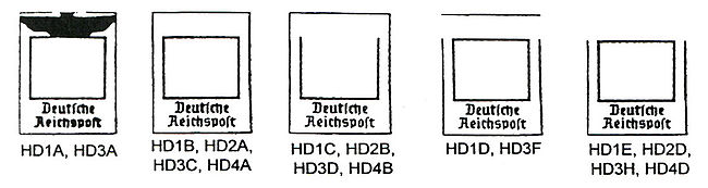 Germany provisional stamp types HD1A-1E.jpg