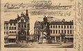 Geschäftshaus Kommunikationsstraße 9 in Düsseldorf, erbaut 1898, Architekt Leo von Abbema, Bauherr J. Neumann, an der Alleestraße, Ecke Kommunikationsstraße, Postkarte Vorderseite.jpg