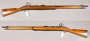 Jarmann M1884 - M1884 Jarmann repeating rifle