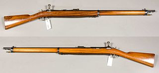 Jarmann M1884 Type of Bolt action Repeating rifle