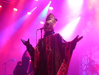 Opus Eponymous - Ghost performing at Roskilde Festival 2011