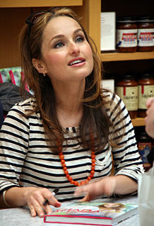 Giada De Laurentiis American television chef and food writer