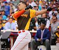 Giancarlo Stanton competes in semis of '16 T-Mobile -HRDerby. (28574676555).jpg