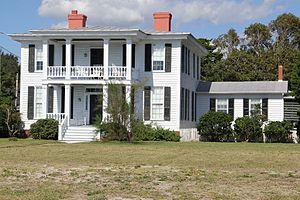 Gibbs House (Beaufort, North Carolina) - Gibbs House, September 2012