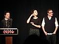 Gillian Robespierre, Jenny Slate and Gabe Liedman (12025833555).jpg