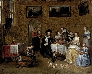 Gillis van Tilborgh - Family portrait