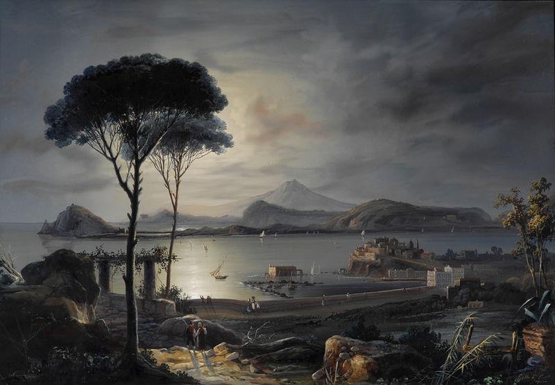 File:Gioacchino Lapira Bucht im Golf von Neapel.jpg