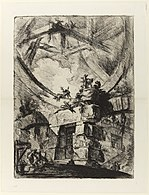 Giovanni Battista Piranesi - Le Carceri d'Invenzione - Second Edition - 1761 - 09 - The Giant Wheel.jpg