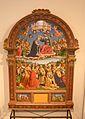 """Giovanni di Pietro (detto """"Lo Spagna"""")̠""""Incoronazione della Vergine"""".JPG"""