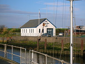 Girvan - The HM Coastguard station.