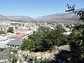Gjirokaster, view from street to castle 2.jpg