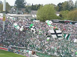 Bökelbergstadion - Image: Gladbach Fans
