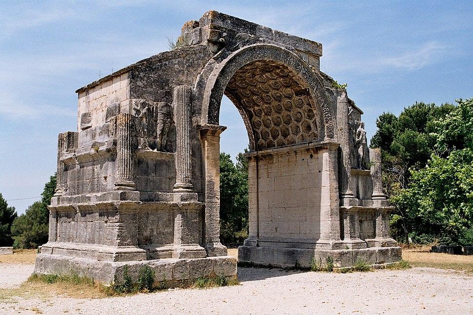 Glanum-triomphal arch-arc de triomphe