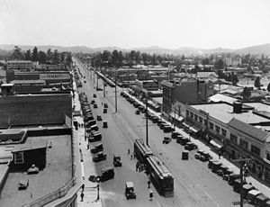 Glendale, California - Looking south on Brand Blvd, 1915