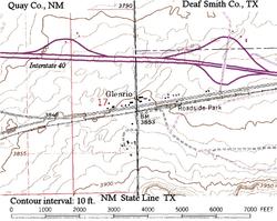 Glenrio New Mexico and Texas Wikipedia