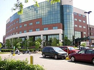 Glens Falls, New York - Glens Falls Hospital's Northwest Tower