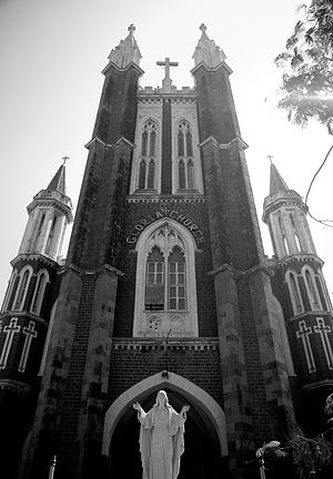 Gloria Church - Image: Gloria Church, Mumbai gogri