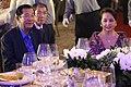 Gloria Macapagal-Arroyo and Hun Sen at a dinner in Clark Freeport.jpg
