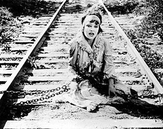 Gloria Swanson - Gloria Swanson in Teddy at the Throttle (1917).