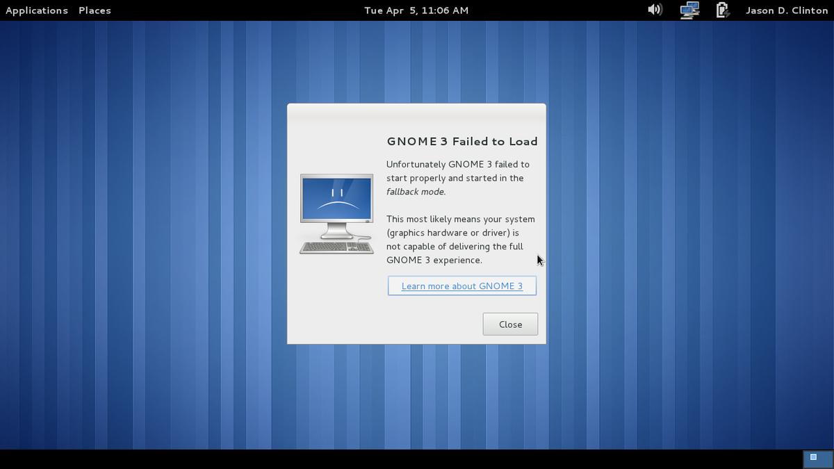 Gnome 4: GNOME Panel