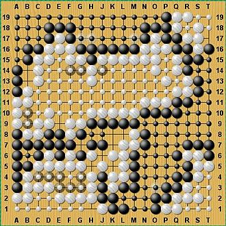 19 (number) - A 19x19 Go board