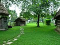 Gocsej village house backyard.jpg