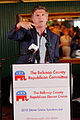 Governor of Maryland Bob Ehrlich at Belknap County Republican LINCOLN DAY FIRST-IN-THE-NATION PRESIDENTIAL SUNSET DINNER CRUISE, Weirs Beach, New Hampshire May 2015 by Michael Vadon 12.jpg