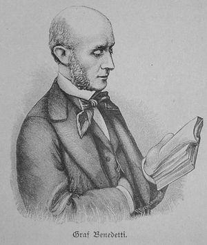 Vincent, Count Benedetti - Count Benedetti 1895-1896