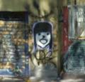 Grafiti afuera de la parroquia del corazón inmaculado de maría en culhuacan 2011.png