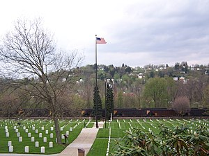 Grafton, West Virginia - Image: Grafton National Cemetery