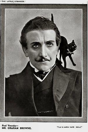 W. Graham Brown - as Paul Vronsky in The Little Stranger (1906)