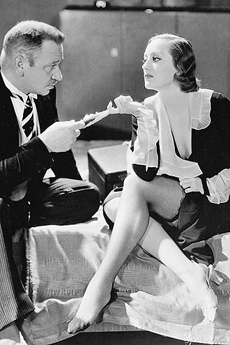 Grand Hotel (1932 film) - Wallace Beery and Joan Crawford