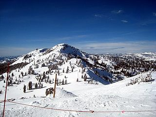 Granite Chief mountain in United States of America