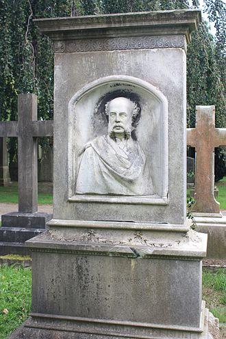 George Paul Chalmers - Grave of George Paul Chalmers, Dean Cemetery